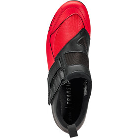 Fizik Transiro Powerstrap R4 Triathlon Schoenen, black/red